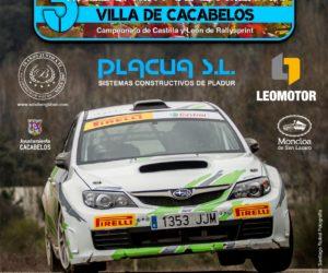 El III Rallysprint de la Mencía ya tiene cartel oficial