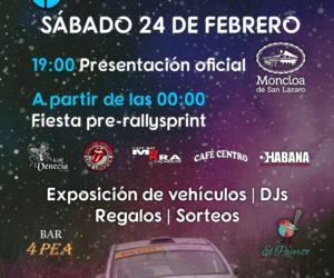 Fiesta de presentación sábado 24 de febrero