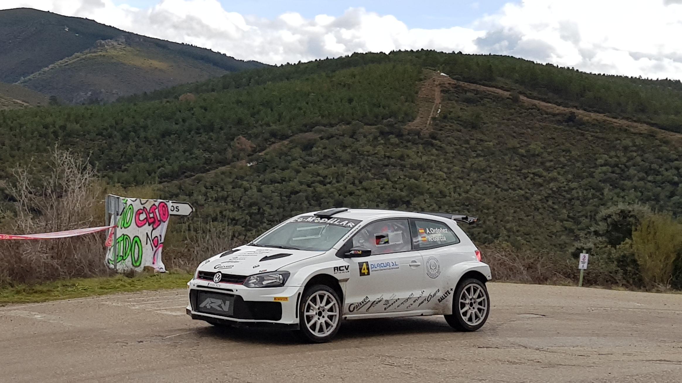 Alberto Ordóñez y Nacho García, vencedores del 3º Rallysprint de la Mencía